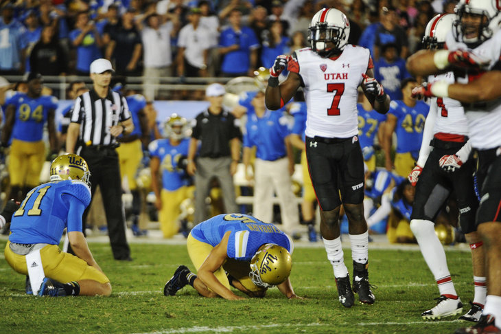 NCAA Football: Utah at UCLA