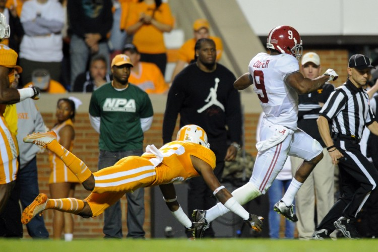 USP NCAA FOOTBALL: ALABAMA AT TENNESSEE S FBC USA TN