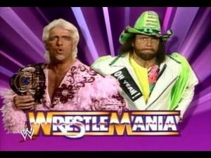 Ric Flair vs. Macho Man