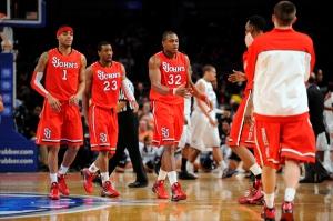 NCAA BASKETBALL: MAR 09 Big East Championship - St Johns v UConn