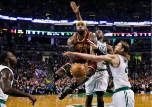 LeBron vs Celtics