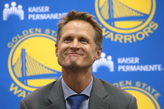 Golden State Warriors Introduce Steve Kerr