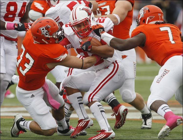 BGSU Defense vs. Miami (OH) (Dave Zapotosky/The Blade)