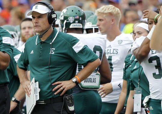 EMU Head Coach Chris Creighton (Kim Klement/USA Today Sports)