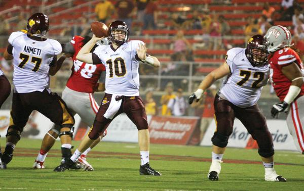 CMU QB Cooper Rush (Barry Wong)