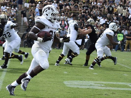 WMU RB Jarvion Franklin (USA Today)