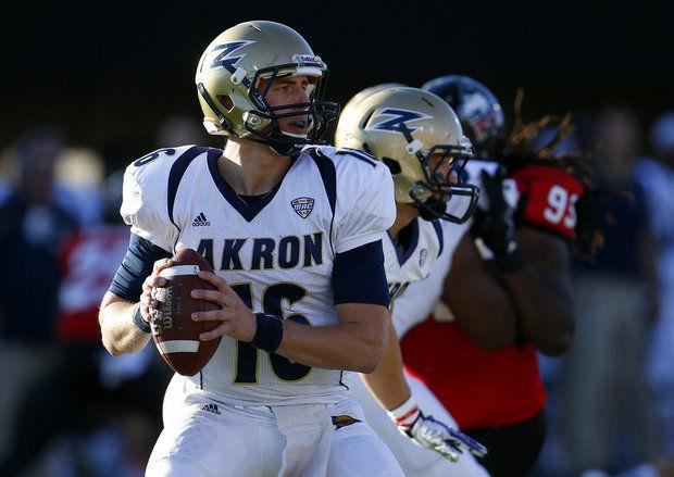 Akron QB Kyle Pohl (AP Photo)