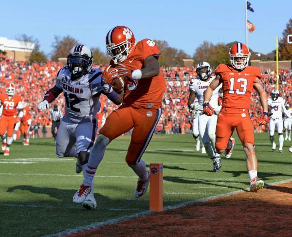 Clemson WR Artavis Scott (Photo Courtesy of Richard Shiro/Associated Press)