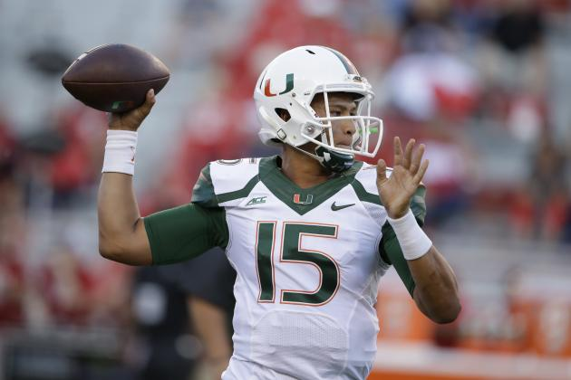 Miami QB Brad Kaaya (Photo Courtesy of Nati Harnik/Associated Press)