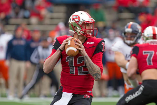 WKU QB Brandon Doughty (Photo Courtesy of WKU Athletics)