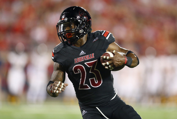 UL RB Brandon Radcliff (Photo Courtesy of Andy Lyons/Getty Images North America)