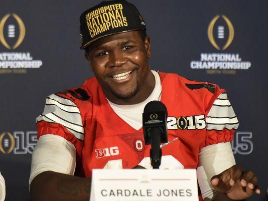 OSU QB Cardale Jones (Photo Courtesy of Kirby Lee/USA TODAY Sports)