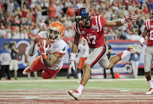 BSU DB Darian Thompson (Photo Courtesy of Thomas Graning/The Daily Mississippian)