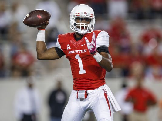 UH QB Greg Ward (Photo Courtesy of Troy Taormina/USA TODAY Sports)