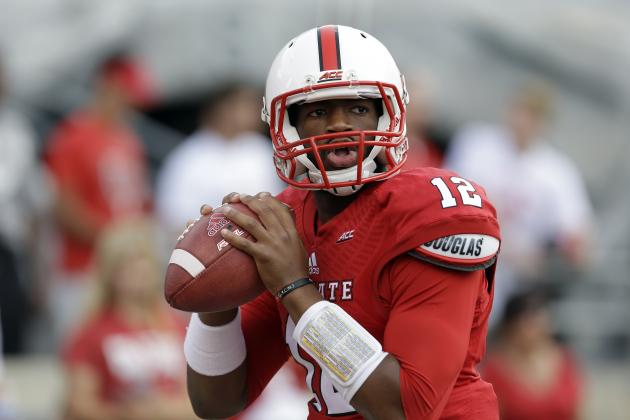 NCSU QB Jacoby Brissett (Photo Courtesy of Gerry Broome/Associated Press)