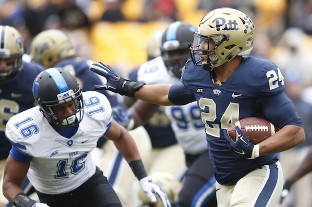 Pitt RB James Conner (Photo Courtesy of USATSI)