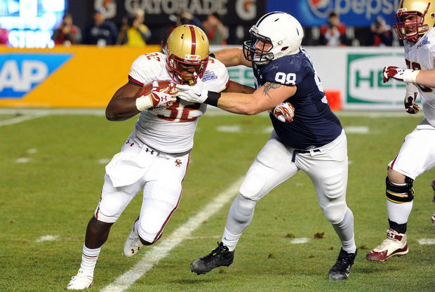 BC RB Jon Hilliman (Photo Courtesy of Rich Barnes/USA TODAY Sports)