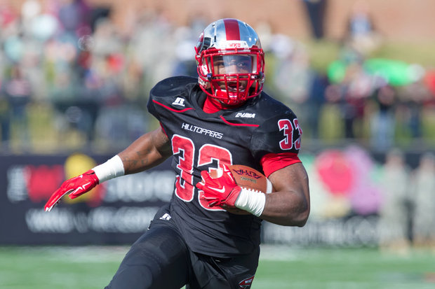 WKU RB Leon Allen (Photo Courtesy of Megan Stearman/WKU Athletics)