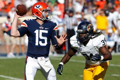 UVA QB Matt Johns (Photo Courtesy of Geoff Burke/USA TODAY Sports)