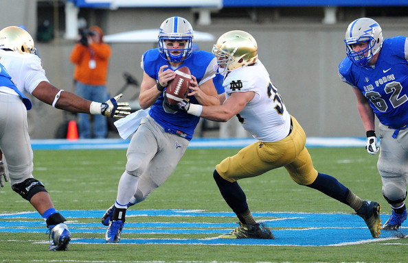 USAFA QB Nate Romine (Photo Courtesy of Scott Cunningham/Getty Images North America)