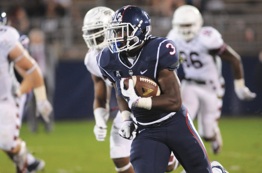 UConn RB Ron Johnson (Photo Courtesy of Troy Caldeira/The Daily Campus)