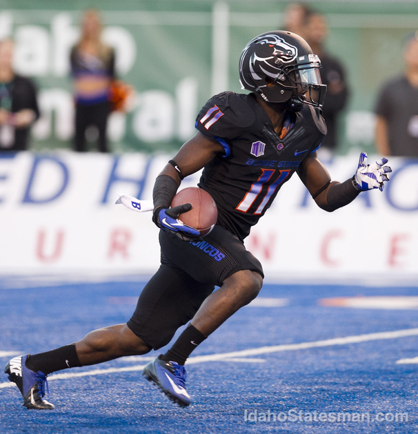 BSU WR Shane Williams-Rhodes (Photo Courtesy of Kyle Green/IdahoStatesman.com)