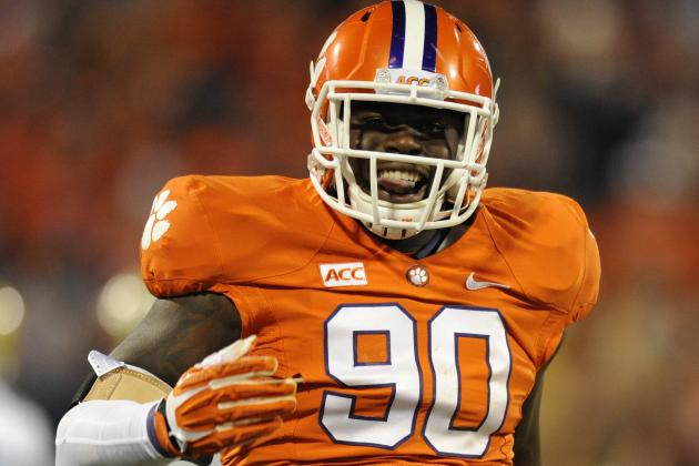 Clemson DE Shaq Lawson (Photo Courtesy of Richard Shiro/Associated Press)