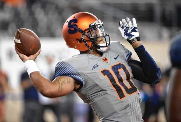 SU QB Terrel Hunt (Photo Courtesy of Stephen D. Cannerelli/syracuse.com)