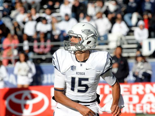 Nevada QB Tyler Stewart (Photo Courtesy of Tim Dunn/Reno Gazette-Journal)