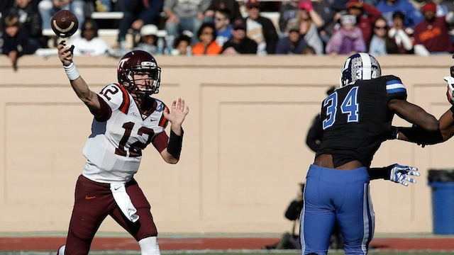 VT QB Michael Brewer (Photo Courtesy of Getty Images)