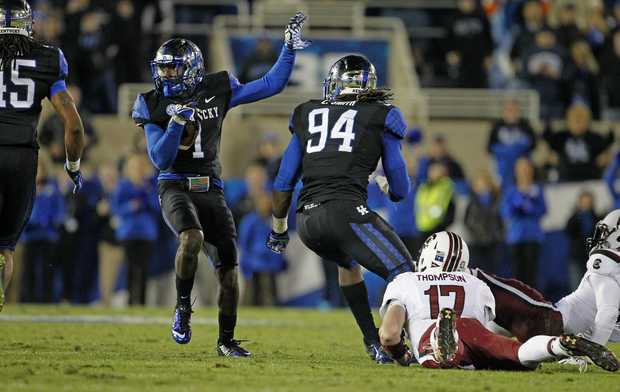 UK S A.J. Stamps (Photo Courtesy of Gerry Melendez/thestate.com)