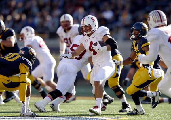 Stanford LB Blake Martinez (Photo Courtesy of Ezra Shaw/Getty Images North America)