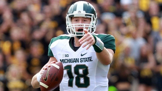 MSU QB Connor Cook (Photo Courtesy of MGoBlog)