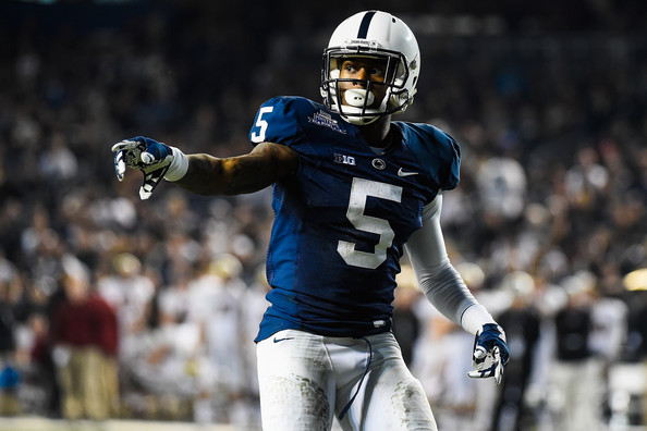 PSU WR DaeSean Hamilton (Photo Courtesy of Alex Goodlett/Getty Images North America)