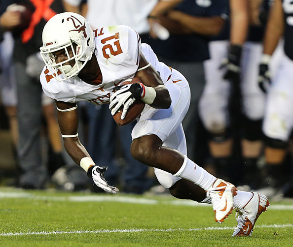 UT CB Duke Thomas (Photo Courtesy of George Frey/Getty Images North America)