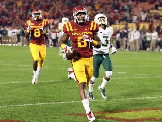 ISU WR D'Vario Montgomery (Photo Courtesy of Reese Strickland/USA TODAY Sports)