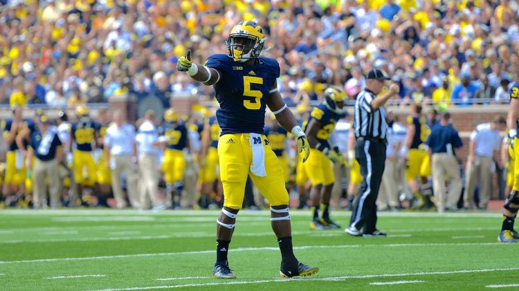 UM DB Jabrill Peppers (Photo Courtesy of Bryan Fuller/MGoBlog)