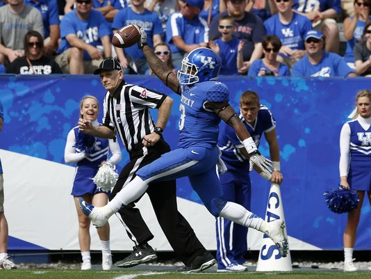 UK RB Jojo Kemp (Photo Courtesy of Amy Wallot/The Courier Journal)