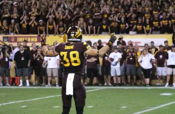 ASU S Jordan Simone (Photo Courtesy of Scott Bara/WCSN)