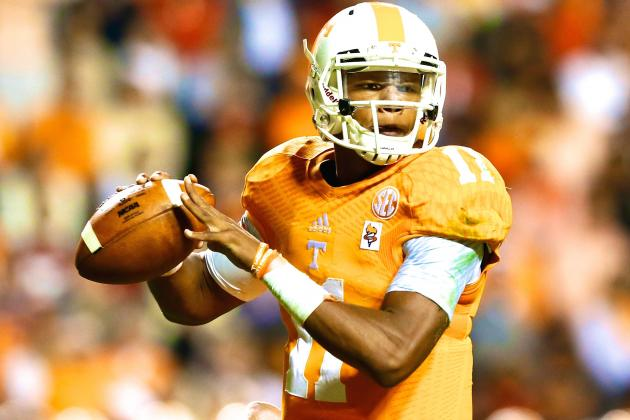 UT QB Josh Dobbs (Photo Courtesy of Getty Images)