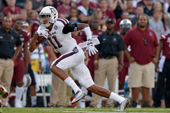 TAMU WR Josh Reynolds (Photo Courtesy of Grant Halverson/Getty Images North America)