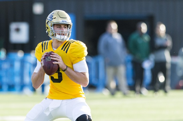 "UCLA QB Josh ""Chosen"" Rosen (Photo Courtesy of Max Himmelrich/Daily Bruin)"
