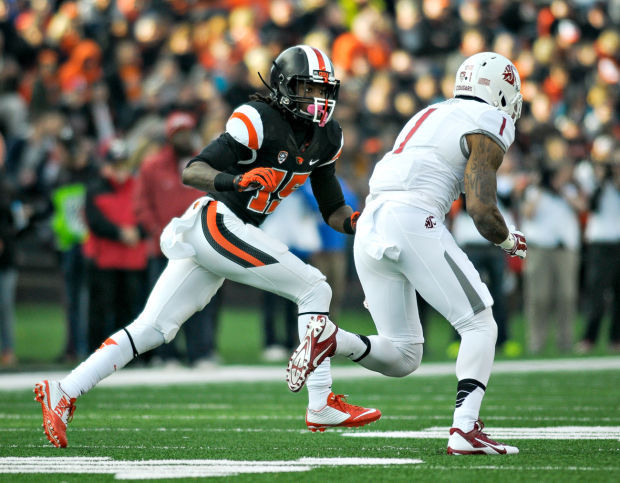 OSU CB Larry Scott (Photo Courtesy of Andy Cripe/Corvallis Gazette-Times)