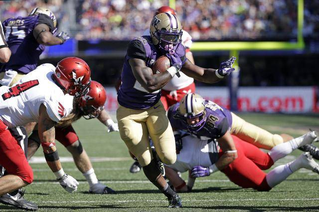 UW RB Lavon Coleman (Photo Courtesy of Associated Press)