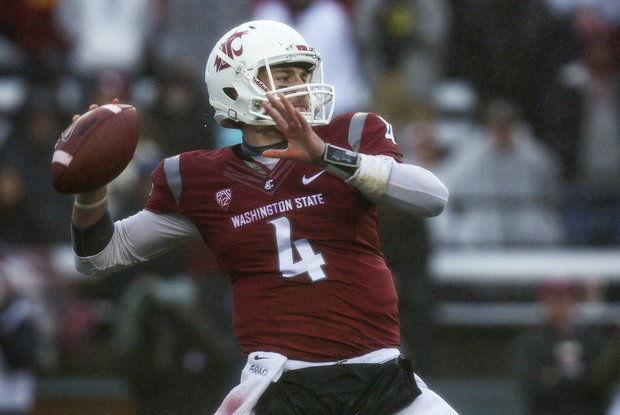 WSU QB Luke Falk (Photo Courtesy of AP Photo/Dean Hare)
