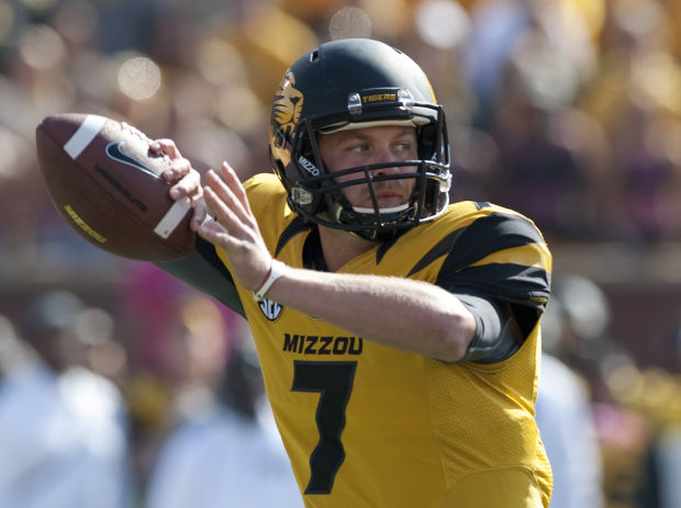 Mizzou QB Maty Mauk (Photo Courtesy of AP Photo/L.G. Patterson)