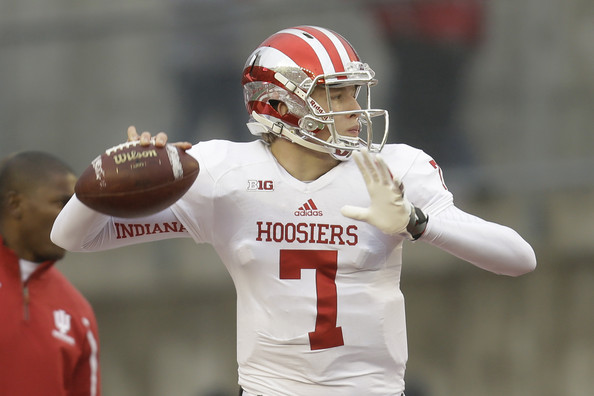 IU QB Nate Sudfeld (Photo Courtesy of Mike McGinnis/Getty Images North America)