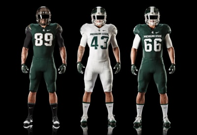 2015 Nike Michigan State Uniforms