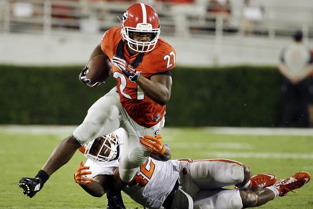 UGA RB Nick Chubb (Photo Courtesy of David Goldman/Associated Press)