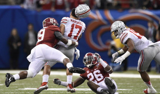 UA LB Reggie Ragland (Photo Courtesy of Vasha Hunt/al.com)